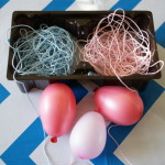 supplies for string eggs